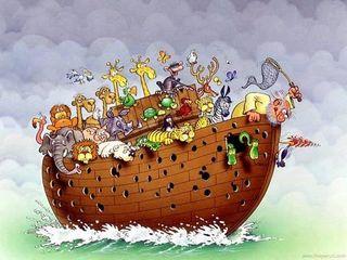 Noahs-ark-sinking